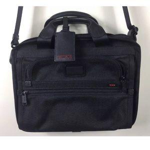 Tumi Ballistic Nylon Computer Briefcase Laptop Bag